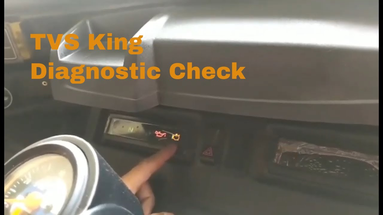 TVS King Deluxe Diagnostics Check