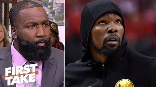 Download KD was pressured by teammates, coaching staff to play Game 5 – Kendrick Perkins | First Take Mp3 and Videos