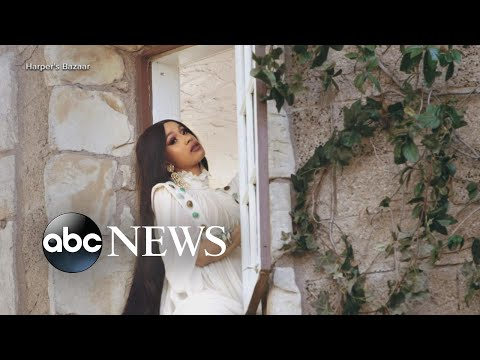 Cardi B opens up about battle with postpartum depression | GMA