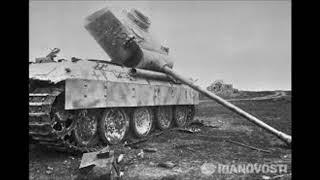 Архивные фотографии.Танкового сражения.На Курской дуге.