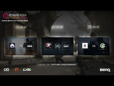 Round of 32 | ZOWIE eXTREMESLAND ASIA CS:GO 2016 Indian Qualifier | Cast by ShaDeSLaYeR and RatZ