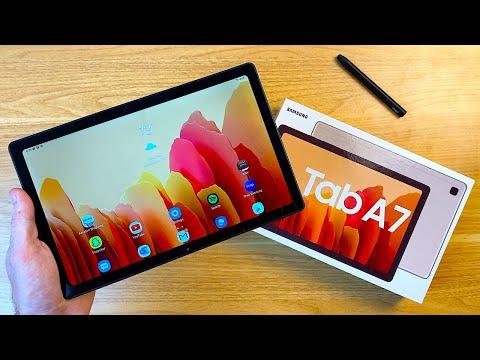 Samsung Galaxy Tab A7 Review: A New Affordable Samsung Tablet