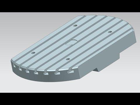 RWTH CAD SS18 Aufgabe 1 - Maschinenbett feat. Lil Nasty