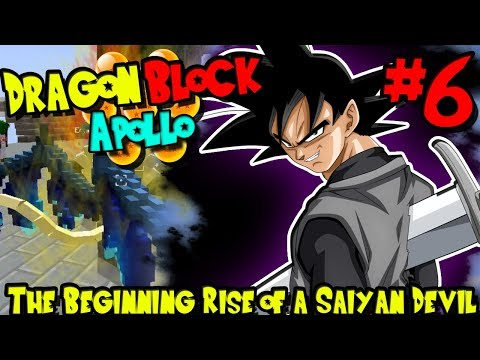THE BEGINNING RISE OF A SAIYAN DEVIL! | Dragon Block C: Apollo (Minecraft DBZ Server) - Episode 6