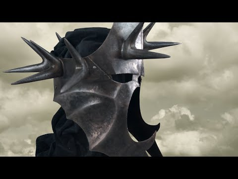 Making The Metal Witch King Helmet(LOTR)