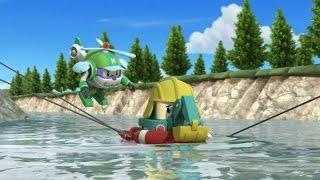 Робокар Поли - Приключение друзей - Новый мячик Брунера (мультфильм 42 в Full HD)