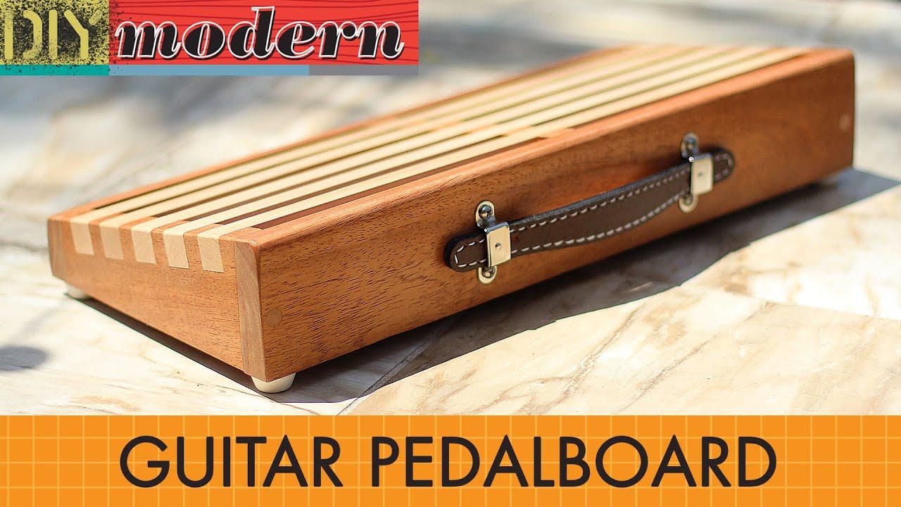 make a modern guitar pedalboard - YouTube
