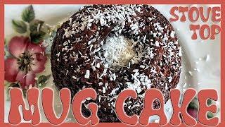 How to Make Chocolate Mug Cake on a Stove Top | Stovetop Mug Cake Recipe