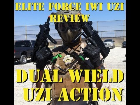 Elite Force IWI UZI Review and Dual Wield UZI Gameplay