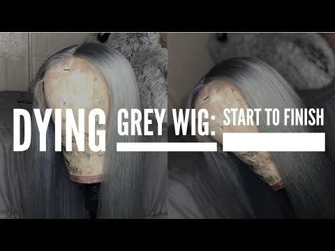 DYING GREY WIG: START TO FINISH