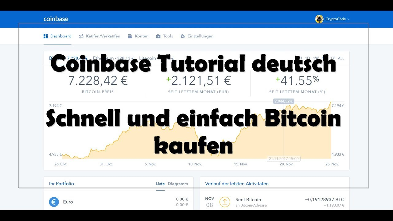 Coinbase Deutsch