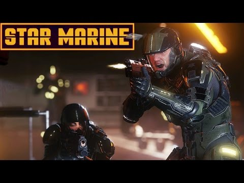 Star Citizen: Star Marine - FPS in Space! - Star Citizen Alpha 2.6 Star Marine Gameplay Highlights