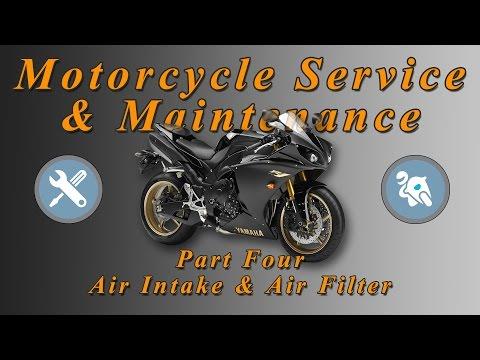 Motorcycle Service & Maintenance Series - Part 4 (Air Intake & Air Filter)