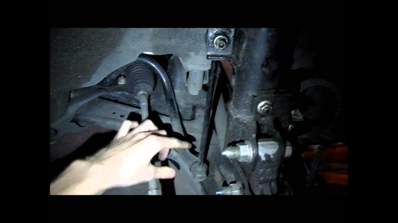 How To Fix Cj Lancer Creaking Noisy Front End Sway Bar End Link Youtube