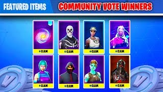 *NEW* HOW TO GET EVERY SKIN IN FORTNITE! (Item Shop Voting System In Fortnite) Fortnite Skin Glitch!