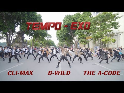 [KPOP IN PUBLIC] TEMPO(템포) - EXO(엑소) Dance Cover By B-Wild, The A-Code, Cli-Max From Vietnam