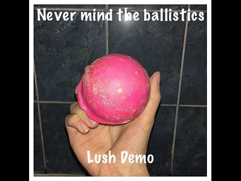LUSH Never Mind The Ballistics BathBomb 2016