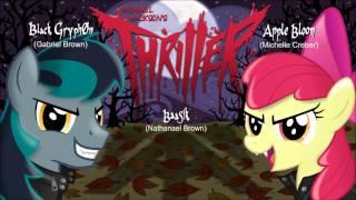 Repeat youtube video THRILLER - Apple Bloom, BlackGryph0n, & Baasik Cover