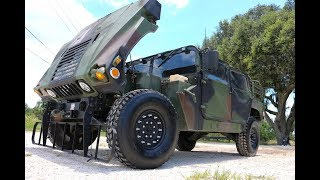 10 minute build-Building HMMWV in 10 minutes-AMAZING TRANSFORMATION