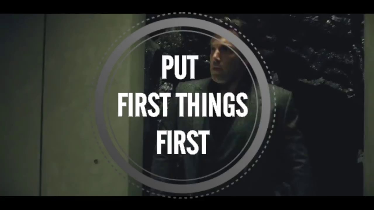 habit 3 put first things first 7 habits of highly effective people