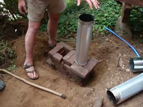 Greenhouse Construction Rocket Mass Heater How To