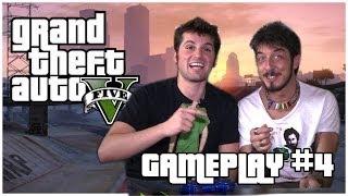 GTA V  - GAMEPLAY #4 [FRANK MATANO & PAOLO RUFFINI]