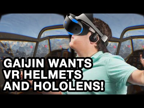 Gaijin Entertainment wants to make something for all VR headsets!