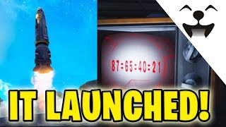 Fortnite Rocket Launch! My perspective