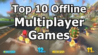 Top 10 OFFLINE multiplayer games for Android/ios via WiFi LOCAL NO INTERNET