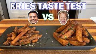 French Fry Taste Test | Gordon Ramsay VS Varun Inamdar