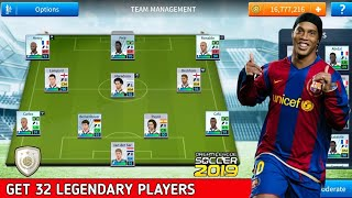 Get The Best 32 Legendary Players In Dream League Soccer 2019 (Classic Players)