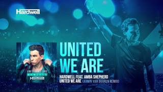 Hardwell feat. Amba Shepherd - United We Are (Armin van Buuren Remix) [Cover Art]