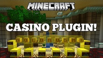 Minecraft Casino Plugin 1.14.4+ - Player Casinos!