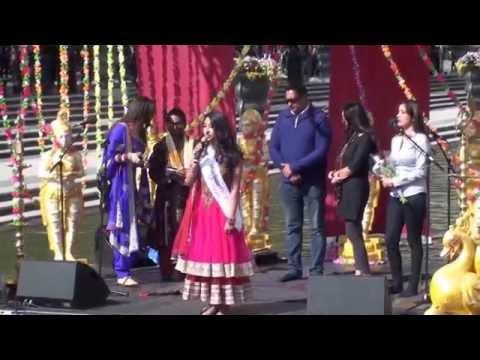 Dharma Festival 2014 - Stockholm ,  Namita Arora Miss India Europe