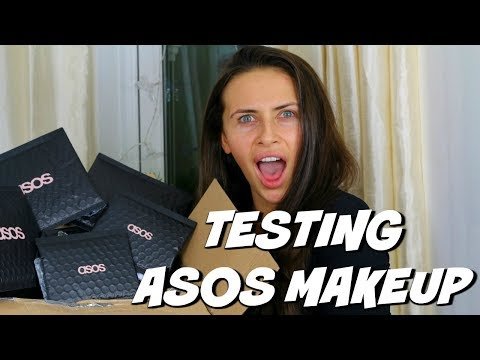 TESTING ASOS MAKEUP UNDER £10 & SHOPPING ON A BUDGET