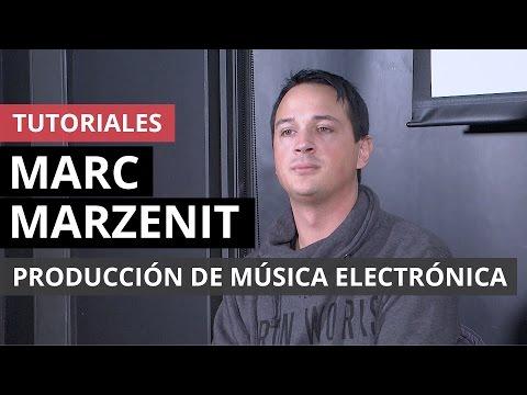 Producción de música electrónica según Marc Marzenit