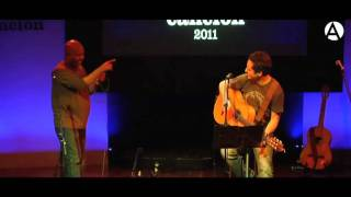 Improvisación en décimas, por Jorge Drexler y Alexis Díaz Pimienta
