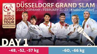 Düsseldorf Grand Slam 2020 - Day 1: Commentated