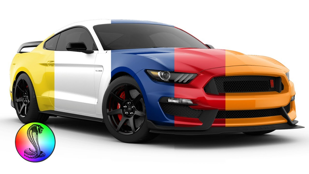 2018 ford mustang gt350 gt350r shelby colors