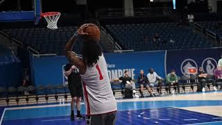 Jose Alvarado Octagon Pro Day at the NBA Combine