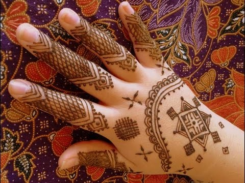 Mauritanian Style Henna Design by FreeHandMehndi