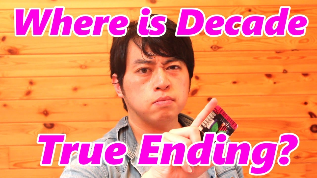 Doesn't Kamen Rider Decade Have True Ending?