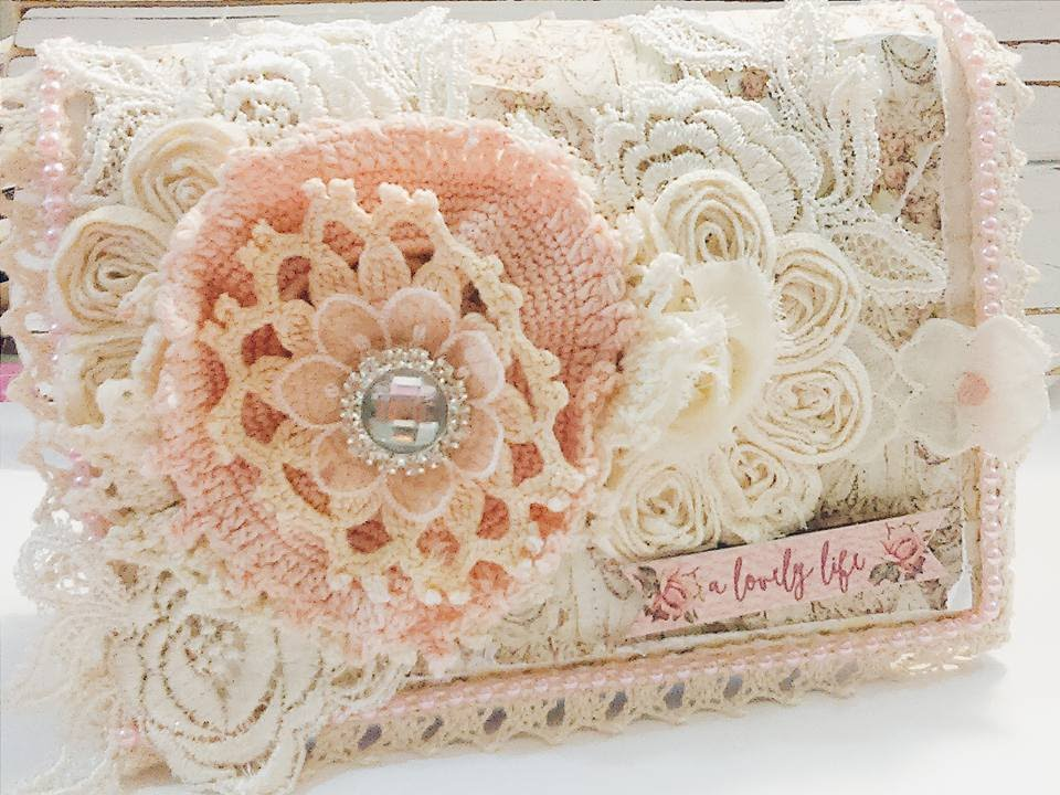 vintage shabby chic altered box lavish laces youtube. Black Bedroom Furniture Sets. Home Design Ideas