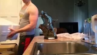 Sideshow Avatar neytiri unboxing/review