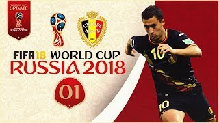 FIFA 18 World Cup - BELGIUM AT RUSSIA 2018!! [Online]