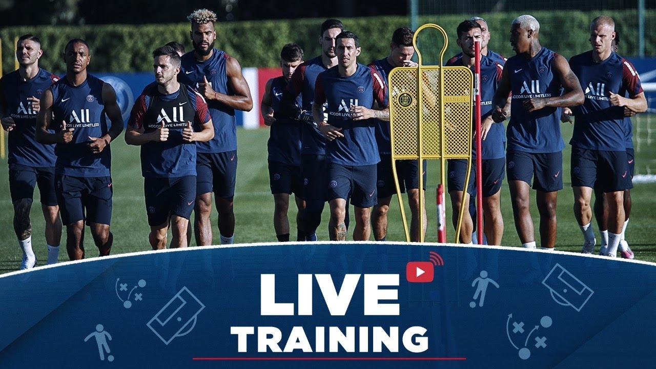 ⚽️ L'entraînement avec Valdo, debrief de Atalanta Bergame - Paris Saint-Germain ! 🔴🔵