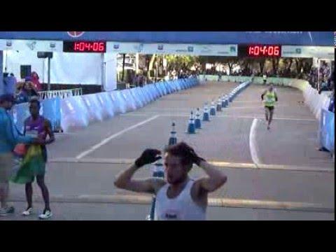 2016 Chevron Houston Marathon & Aramco Houston Half Marathon Finish Line Video