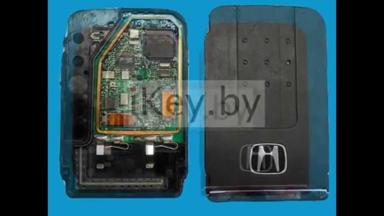 батарейка в ключе хонда срв 3