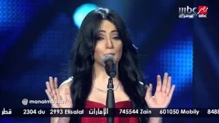 Arab Idol -الحلقات المباشرة-منال موسى- انا بعشقك