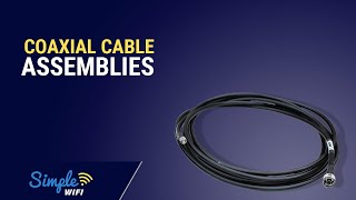 Wi-Fi Coaxial Cable Assemblies - Length, Thickness & Connectors Tutorial